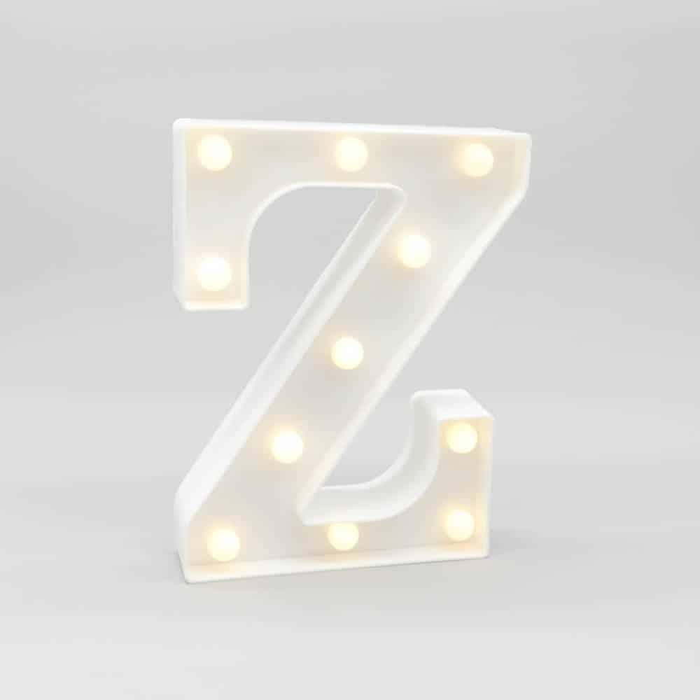 letter-Z-night-light-1