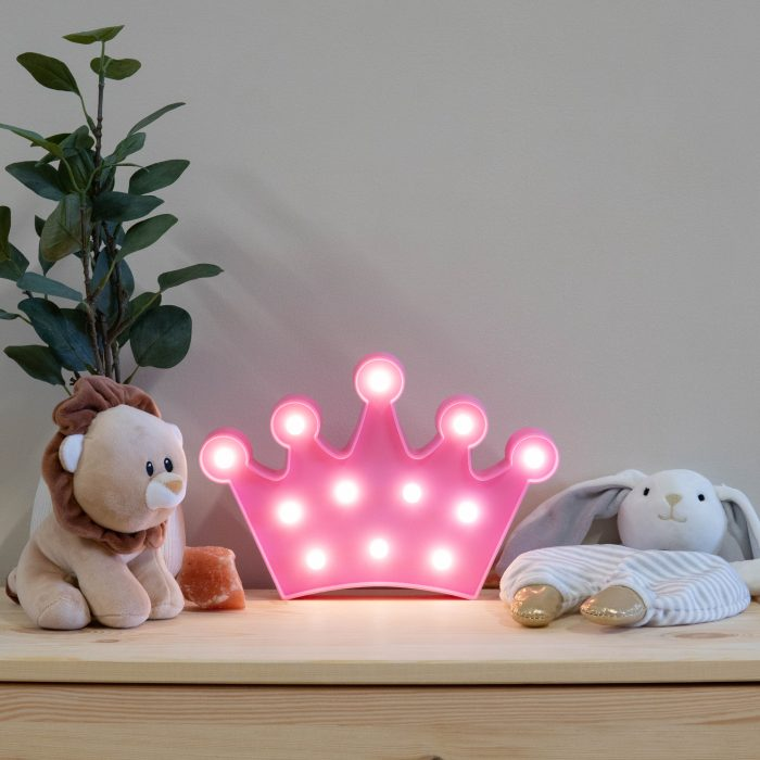 pink-crown-marquee-night-light-2