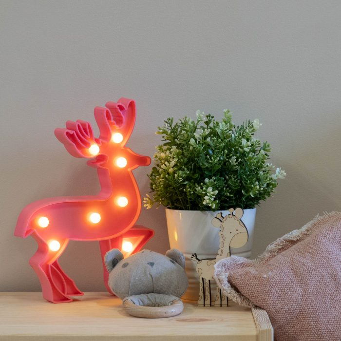 pink-stag-marquee-night-light-2